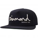 Diamond Supply Co OG Script Snapback Navy