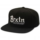 Brixton Barley Snapback Cap Black