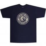 Brixton Rival T-Shirt Navy White