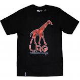 Lrg Core Collection Giraffe T-shirt Black