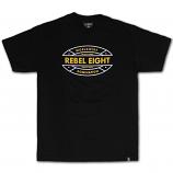 Rebel8 Off Track T-shirt Black