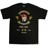 Rebel8 Attack Squadron Executioners T-shirt Black