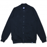 Dickies Crandon Button up Sweatshirt Black