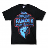 Famous Stars and Straps Our Town T-shirt Black