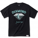 Diamond Supply Co OG Yacht Club T-shirt Black