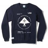Lrg RC Crewneck Sweatshirt Navy