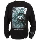 Diamond Supply Co Gem Quality Sweatshirt Black