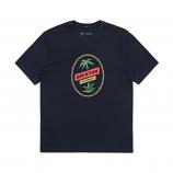 Brixton Tosh Premium T-Shirt Navy Blue