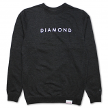 Diamond Supply Co Futura Sweatshirt Charcoal