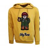 Top Gun Sky Boss Pullover Hoodie Mustard