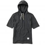 Diamond Supply Co Speckle Short Sleeved Hoodie Black
