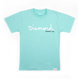 Diamond Supply Co OG Script Core T-shirt Diamond Blue