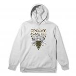 Crooks & Castles Medusa on Camo Hoodie White