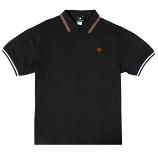 LRG Don't Cross Me Polo Shirt Black Beauty