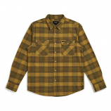 Brixton Bowery Flannel Long Sleeve Shirt Avocado