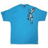 Mecca Jazzhound T-Shirt Turquoise
