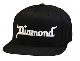 Diamond Supply Co King Snapback Black
