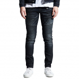 Embellish Clemente Biker Denim Jeans Blue