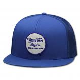 Brixton Wheeler Mesh Snapback Cap Royal Blue