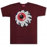Mishka Keep Watch T-Shirt Burgundy