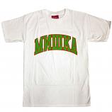 Mishka Cyrillic Varsity T-Shirt White Green