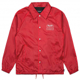 Brixton Dale Windbreaker Jacket Red