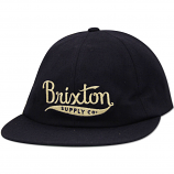 Brixton Gomez Strapback Baseball Cap Navy