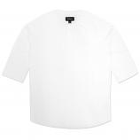 Brixton Eliot Henley T-shirt White