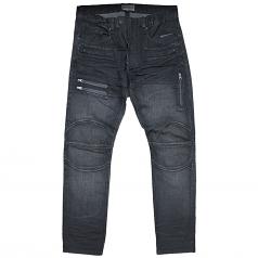 Rivet De Cru Blue Knights Moto Tapered Jeans