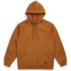 Brixton Longman Intl Pullover Hoodie Washed Copper